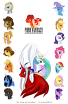 Pony Fantasy cover by dzetaWMDunion