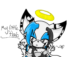:: My Little Halo by AngelTheHedgehog