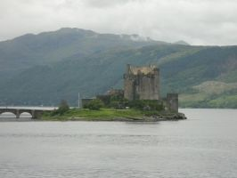 Eilean Donan Castle from the other side by IsawUCZ