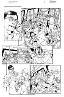 Superman Pencil test page 01 by Buchemi