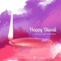 Diwali Free Vector by vecree