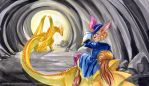 Tobius and the Golden Dragon by GoldeenHerself