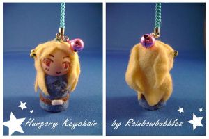 APH Hungary keychain by Rainbowbubbles