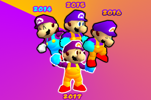 WF32 Generations (+New 2017 color code) by Waluigifan32