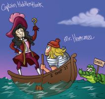 Captain Hiddles Hook by theperfectbromance
