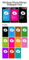 Windows Phone Mango wallpaper collection by moozdeviant