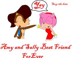 Amy and Sally BFF by AllytheWolffy98