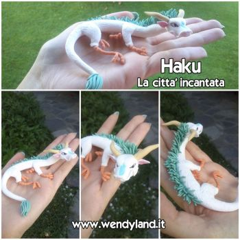 Haku - Spirited Away by Wendyland