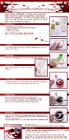 .5 steps fakeblood tutorial. by DasMeinUndDein