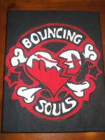 Bouncing Souls Logo by jess13795