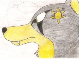 sun wolf by forgot-to-be-human2