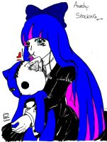anarchy stocking colored by GianGion