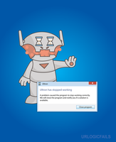 If Ultron ran on Windows by UrLogicFails