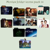 Movies folder icons pack 14 by Cadavericale