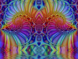 Trippy Reflection by Thelma1