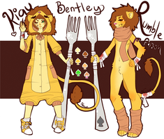 KiguRumble - Bentley Reference by sneakycreatures