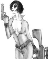 Domino - Neena Thurman by Saint-Mecha