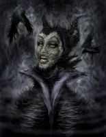 Maleficent by Drochfuil