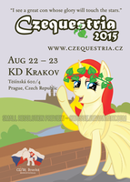 Czequestria Flyer Contest Preview by Cwossie