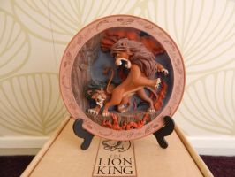 Lion King 'Battle To Be King' Plate by OliveTree2