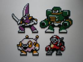 Robot Masters MM10 No.1 by 8-BitBeadsStudio