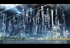 the city of hope animated. by arkan4d