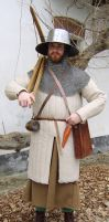 XIII Century Crossbowman by FraterSINISTER
