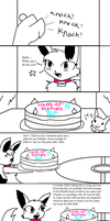 Dark And Breeze Comic 8- Birthday Cake by Pioxys
