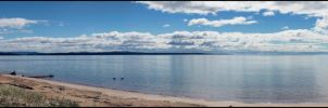 Lake Superior Shore by CiacoAgain