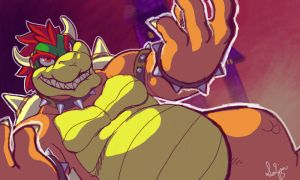Bowser by Demonomi