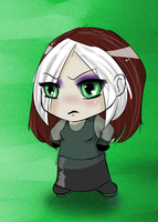 Rogue Chibi by i-am-zandra
