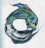 Ouroboros Fish by StarAphelion