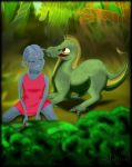 Zelee and Goba as babies by princesszelee