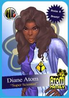 Diane Atom Card by Hallspace