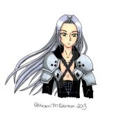 C: Sephiroth by AFreshNewStart