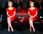 Hilary Duff makeover by Miss-BarbieDoll