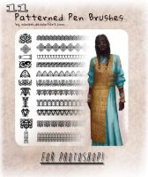 11 Pattern Brushes By Ranarh (Ps version) by WiredLife