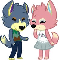 Wolf Cuties by Sulna