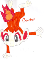 Chimchar for Jay-The-Echidna by DragoniteMessenger