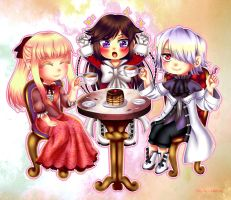 Commission: Tea Party! by manu-chann