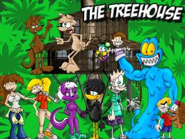 The Treehouse by cailencrow