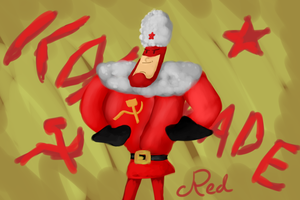 Comrade Red by PsychoticFlare