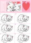 Warrior Cats Hypokit Litter Template by AriaSnow