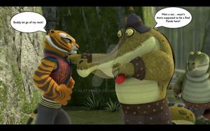 Fung and Tigress moment 1 by platypus12