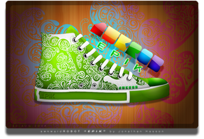 awkROB EPIK Shoe by jhasson