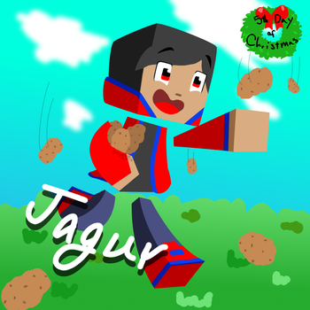 5th Day of Christmas! Jagur by Skyelre