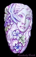 Dragonfly Goddess Doll Face by enchantedgal