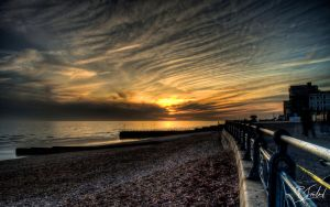 Spring Sunset in Hove 2 by richardsim7