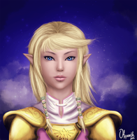 Zelda by Olipanth