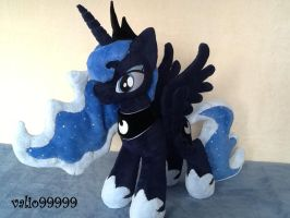 MLP  Friendship is Magic Princess Luna plush by valio99999